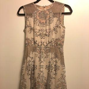 BCBG Cream Dress